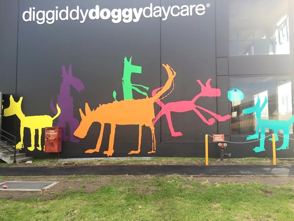 Diggiddydoggydaycare New Wall